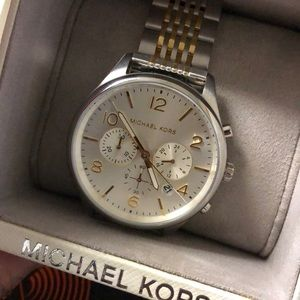 Merrick Watch by Michael Kors gold silver